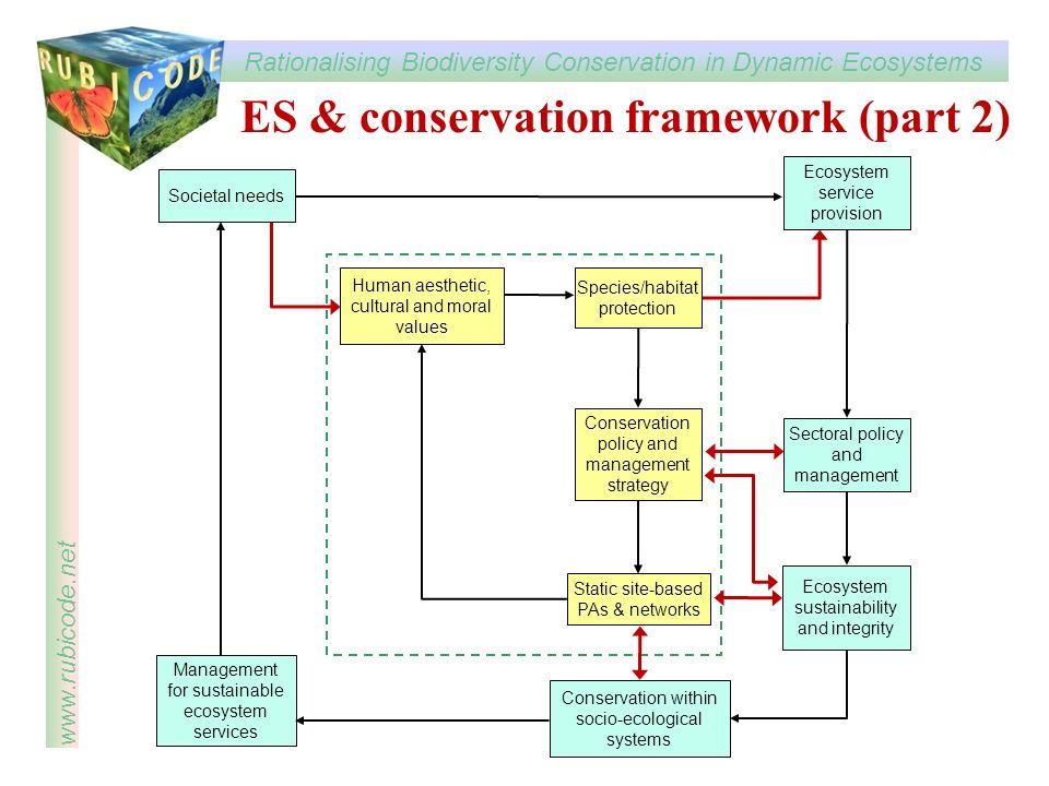 ES & conservation framework (part 2)