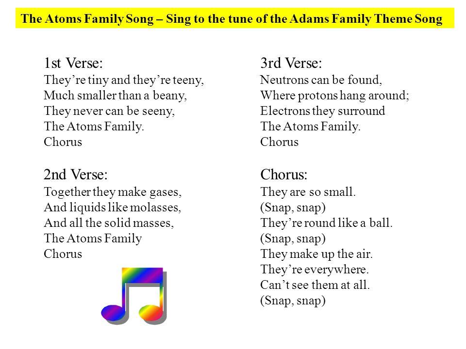1st Verse: 2nd Verse: 3rd Verse: Chorus: