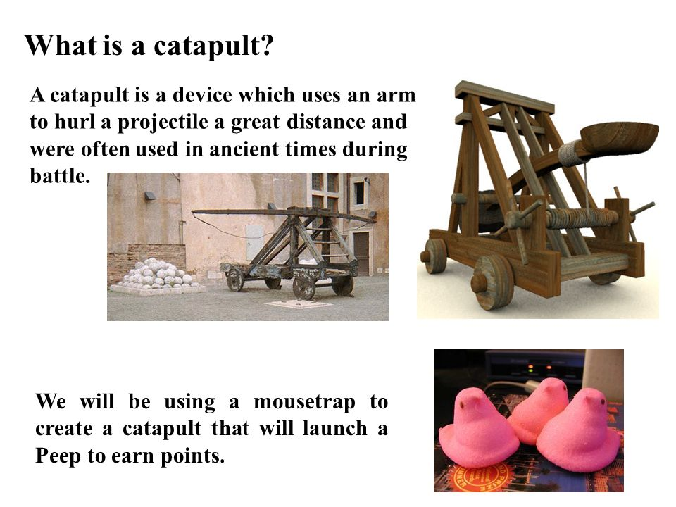 What is a catapult