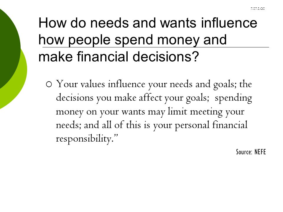 how values affect decisions in personal How to define your personal values (and a list of 75 values)  but with a system of personal values in place, the decisions you make become easier.