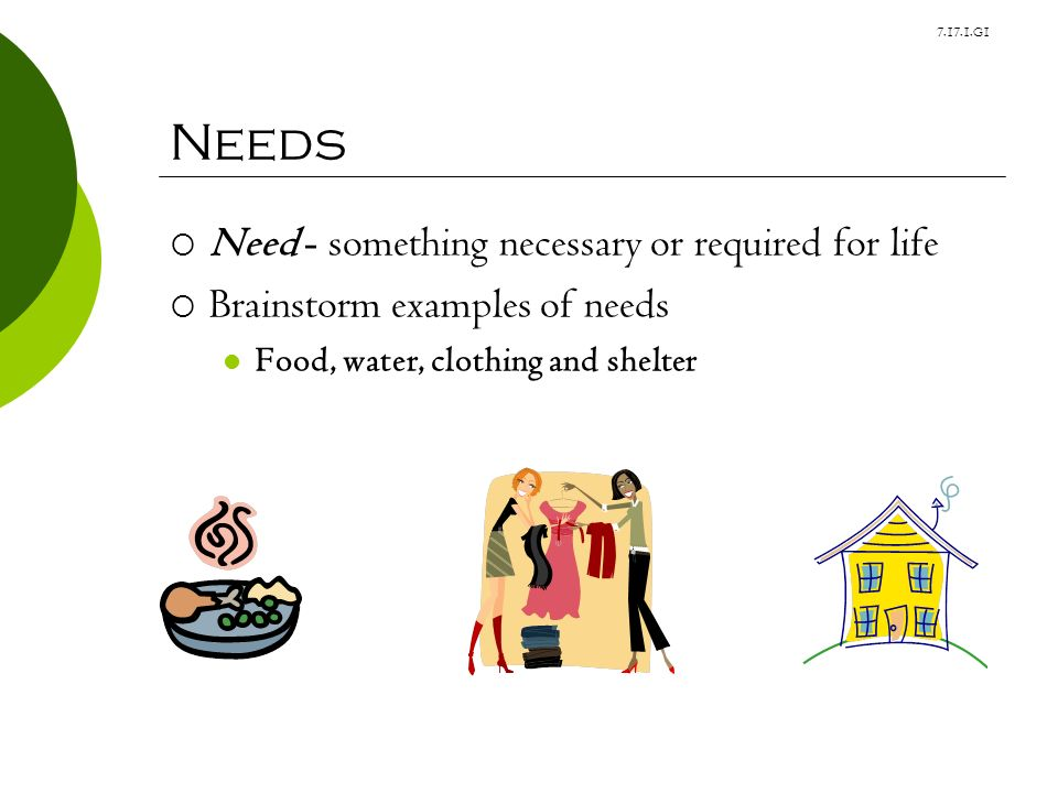 Something Necessary on...