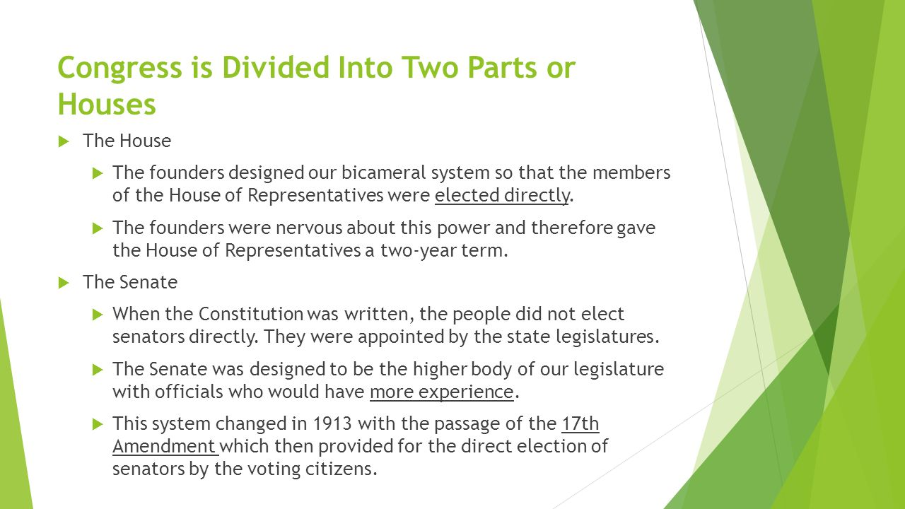 the structure and function of the legislative branch - ppt video