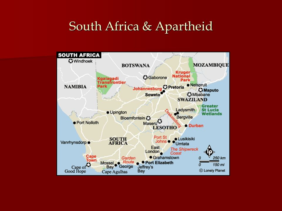 South Africa & Apartheid