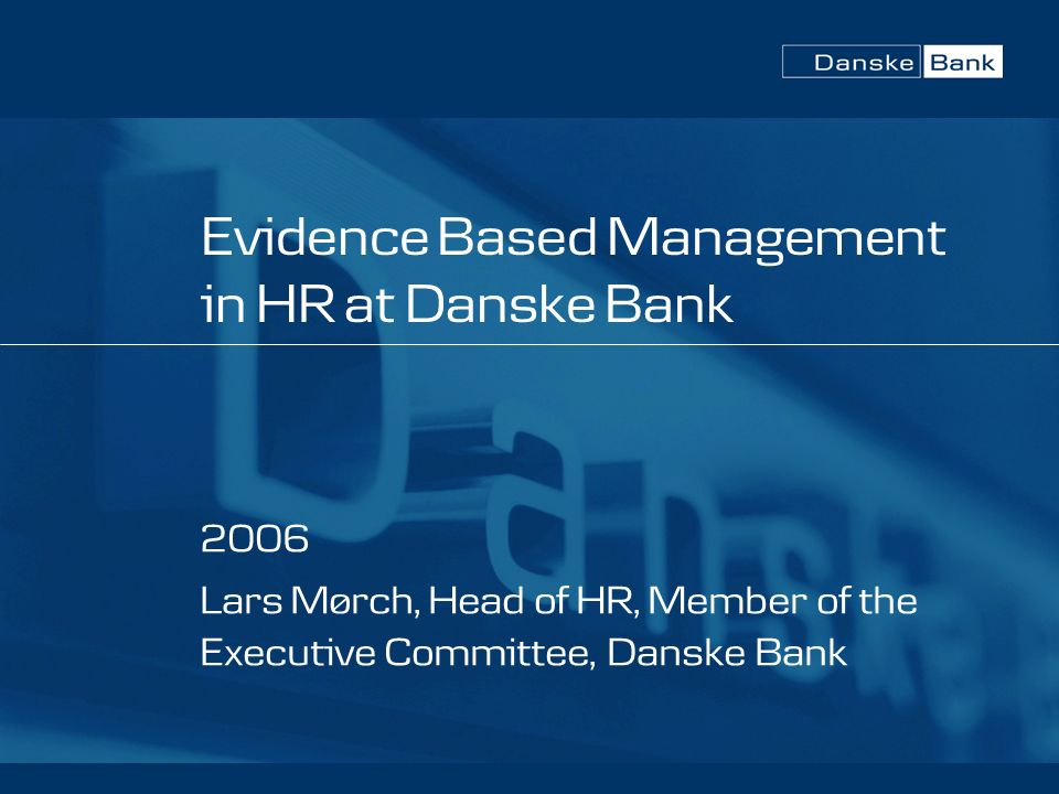 """evidence based management Evidence-based management refers to a relatively simple concept: seek out the best and most current management evidence and implement it however, according to robert i sutton and jeffrey pfeffer, co-authors of """"hard facts, dangerous half-truths, and total nonsense: profiting from evidence-based management,"""" managers."""