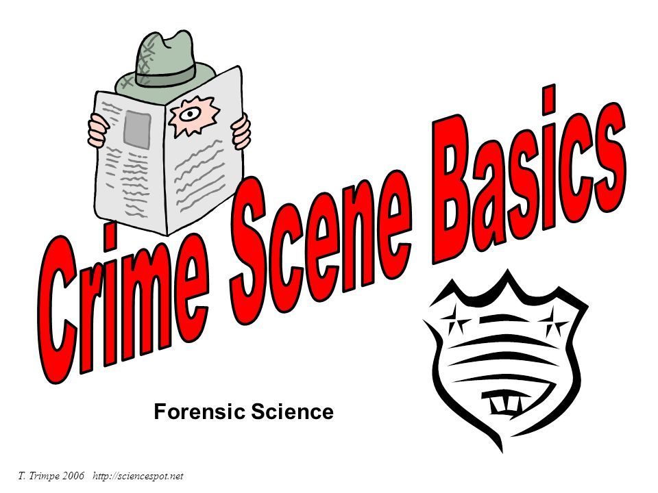 Crime Scene Basics Forensic Science