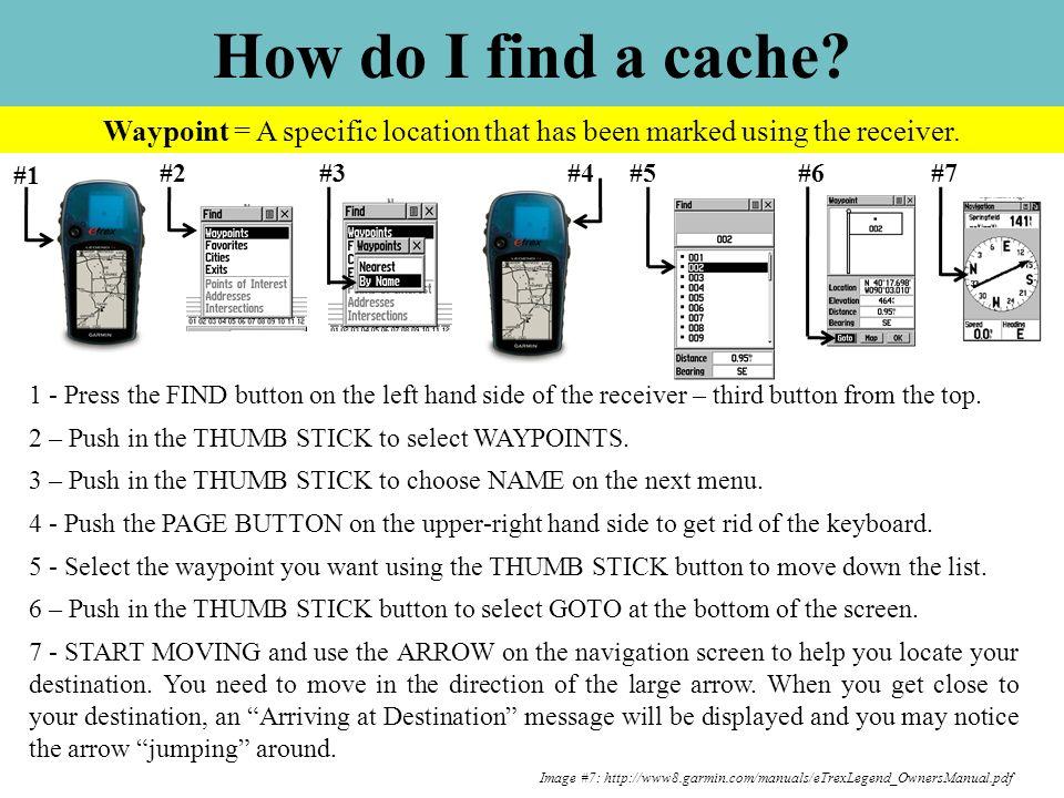 Image #7: http://www8.garmin.com/manuals/eTrexLegend_OwnersManual.pdf