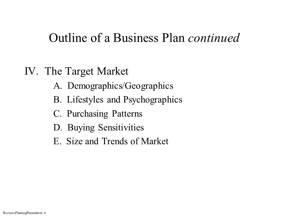Game business plan template