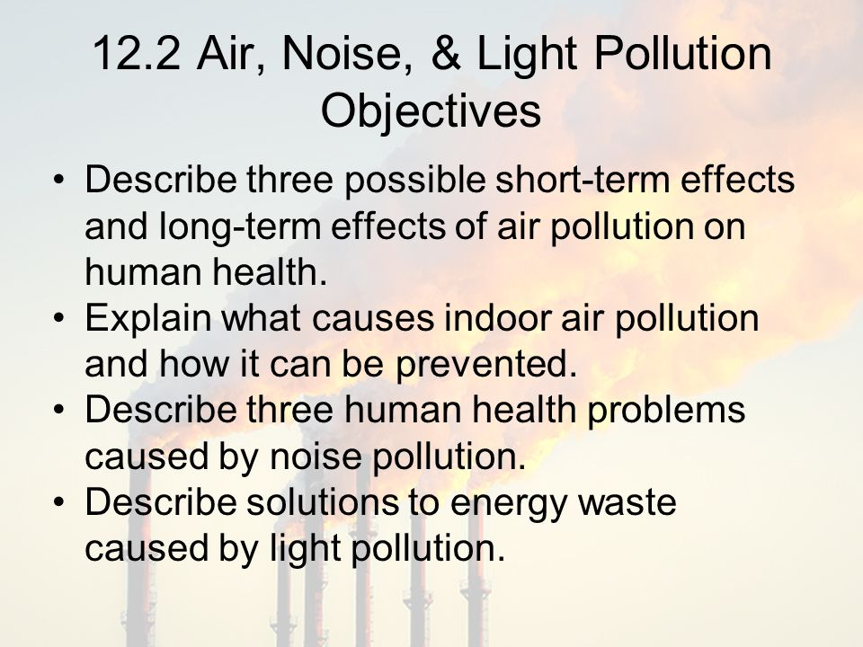 effects and solution of air polution Air pollution is a serious issue that affects not just americans, but people living in  countries across the  the most effective solution for air pollution is prevention.