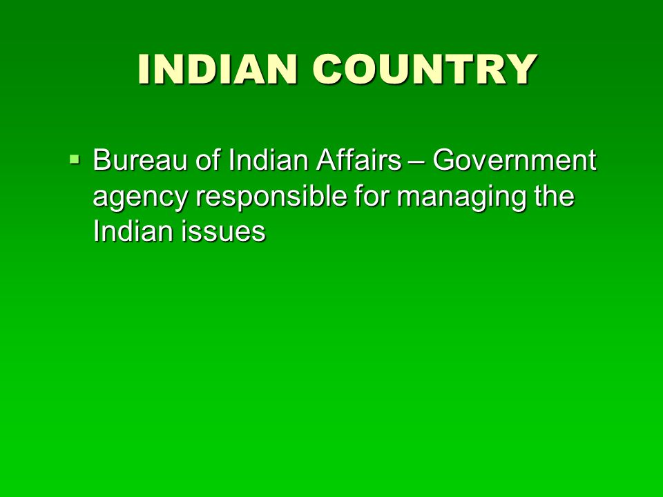 The western crossroads ppt video online download for Bureau government