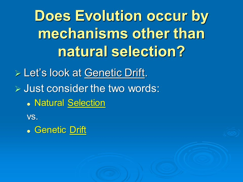 What Is Needed For Natural Selection To Occur