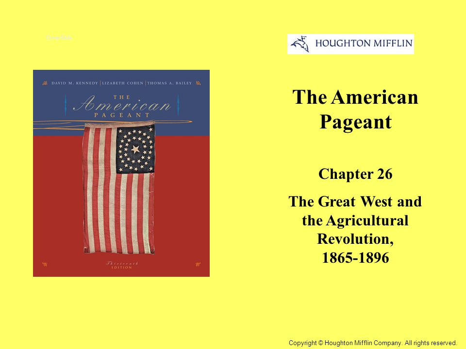 the great west and the agricultural The history of american agriculture 136 1890s increases in land under cultivation and number of immigrants becoming farmers caused great rise in agricultural output wheat occupied the newer and cheaper land west of the corn areas.