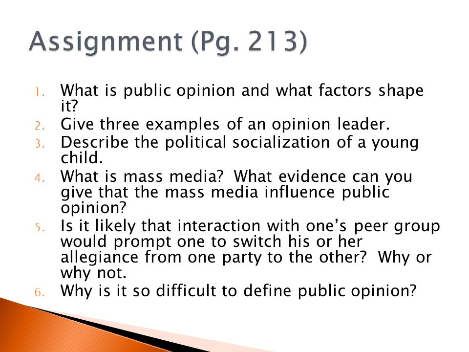 an analysis of mass media and public opinion Setting the agenda describes the mass media's significant and sometimes controversial role in determining which topics are at the centre of public attention and.