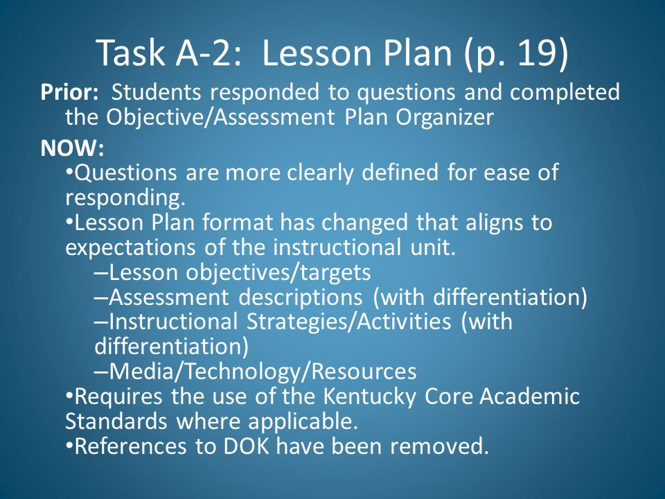 ktip lesson plan template - changes to templates important reminders august ppt download