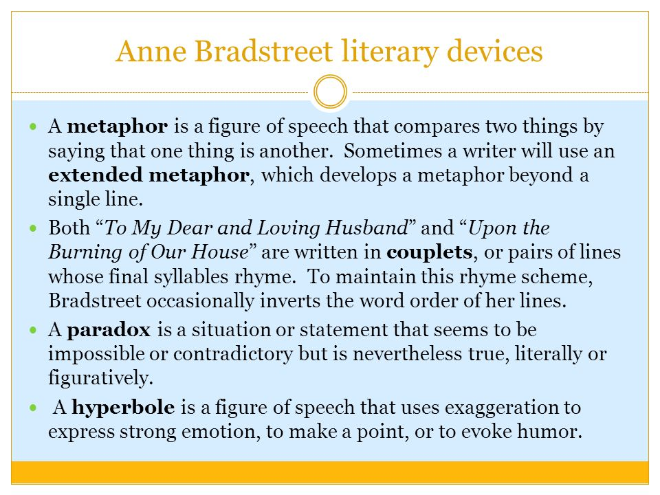 Anne Bradstreet Questions and Answers