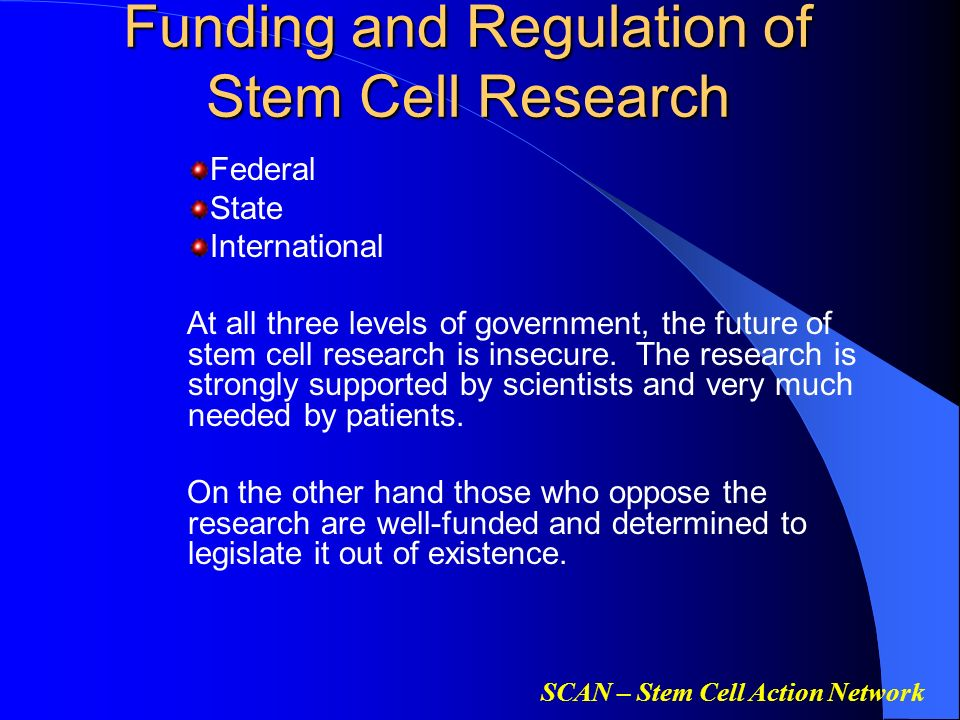 state funded stem cell research essay Essay state-funded stem cell research - scientists are attempting to expand on stem cell research, while aspiring towards new medical advancements, but maryland is questioning state-funded research (department of legislative services, office of information systems [dlsois], 2011.