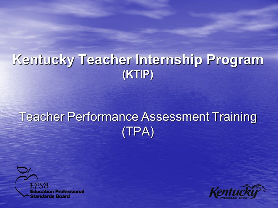 Kentucky Teacher Internship Program (KTIP)