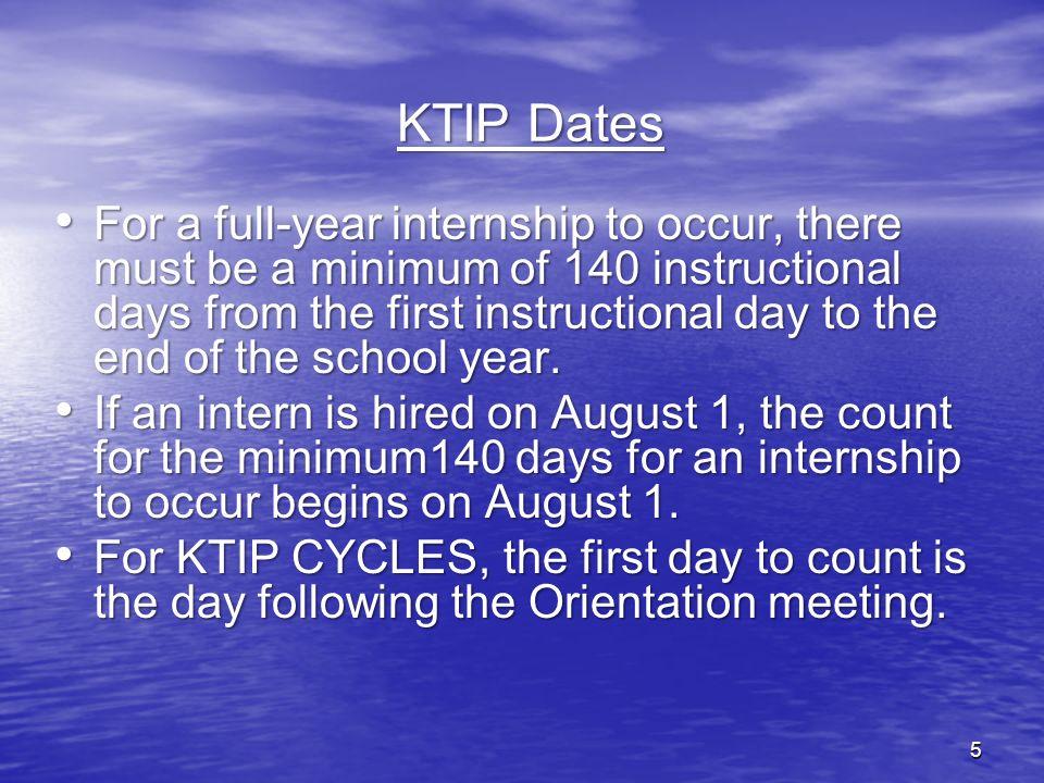 27-Mar-17 KTIP Dates.