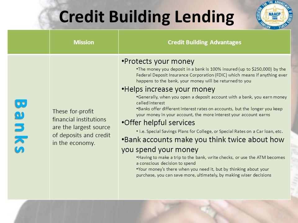 Credit Building Lending
