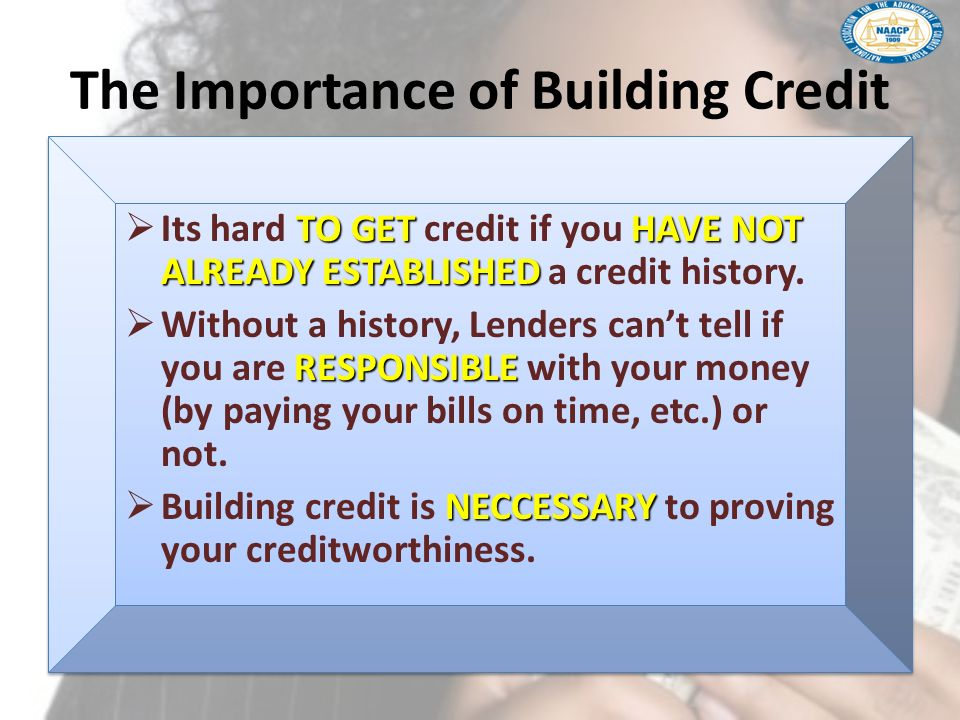 The Importance of Building Credit