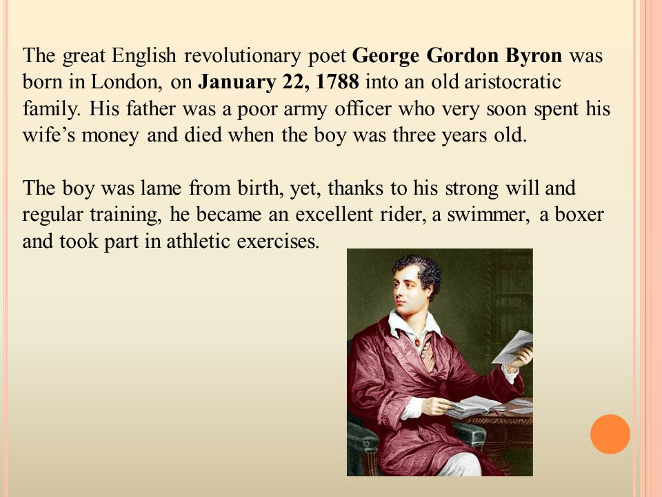 lord byron poet analysis The poetry of lord byron is varied, but it tends to address a few major themes  byron looked upon love as free but unattainable in the ideal,.