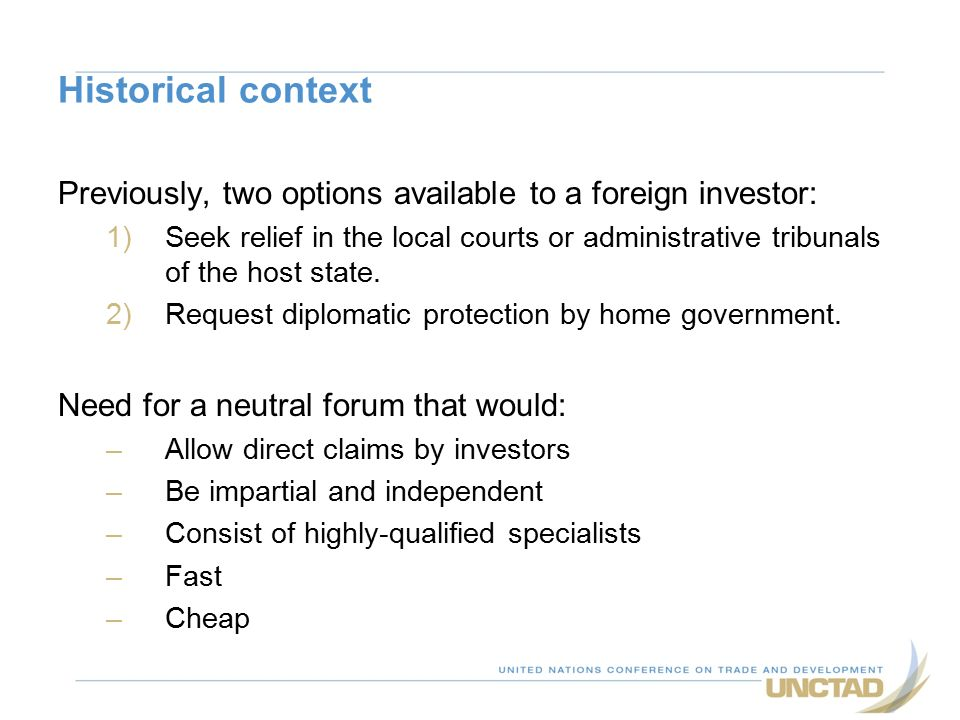International Investment Agreements And Investor-State Arbitration