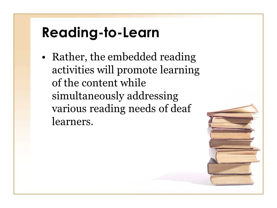 Reading-to-Learn
