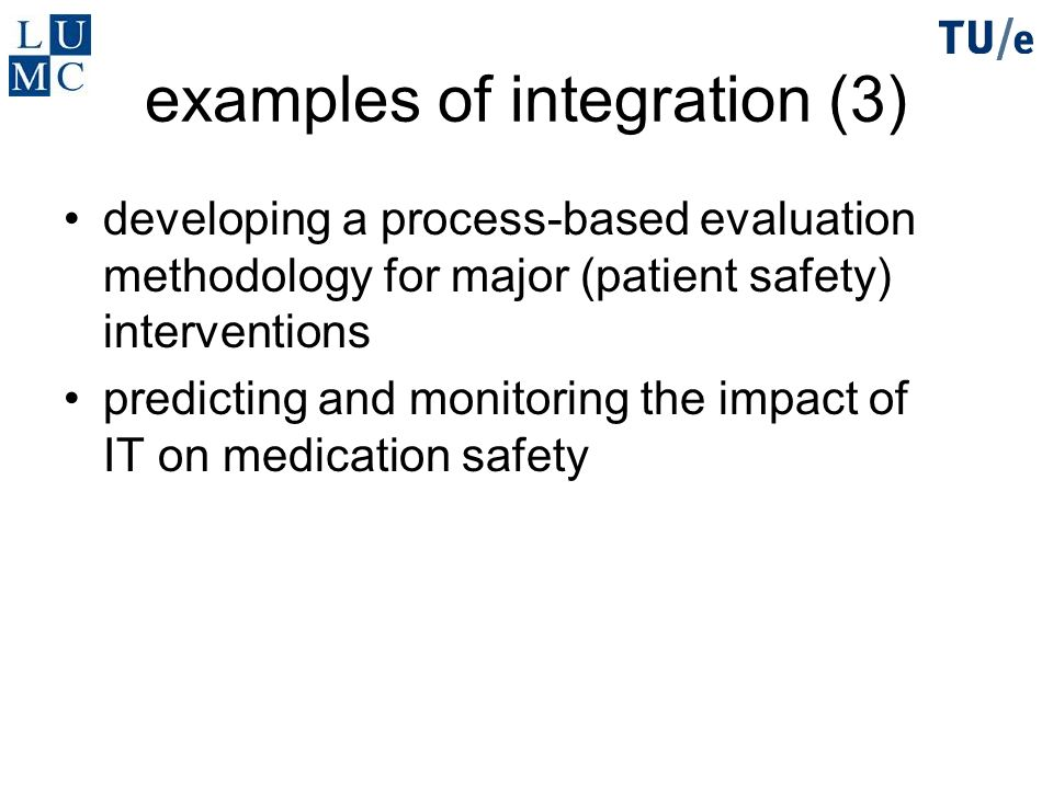 examples of integration (3)