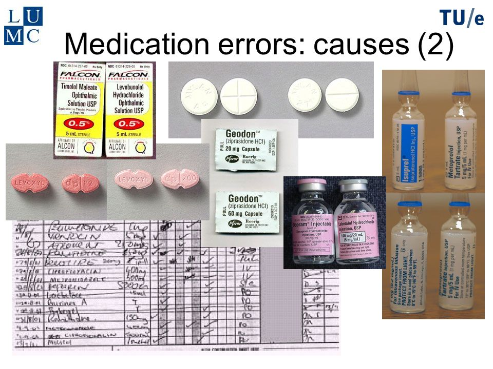 Medication errors: causes (2)