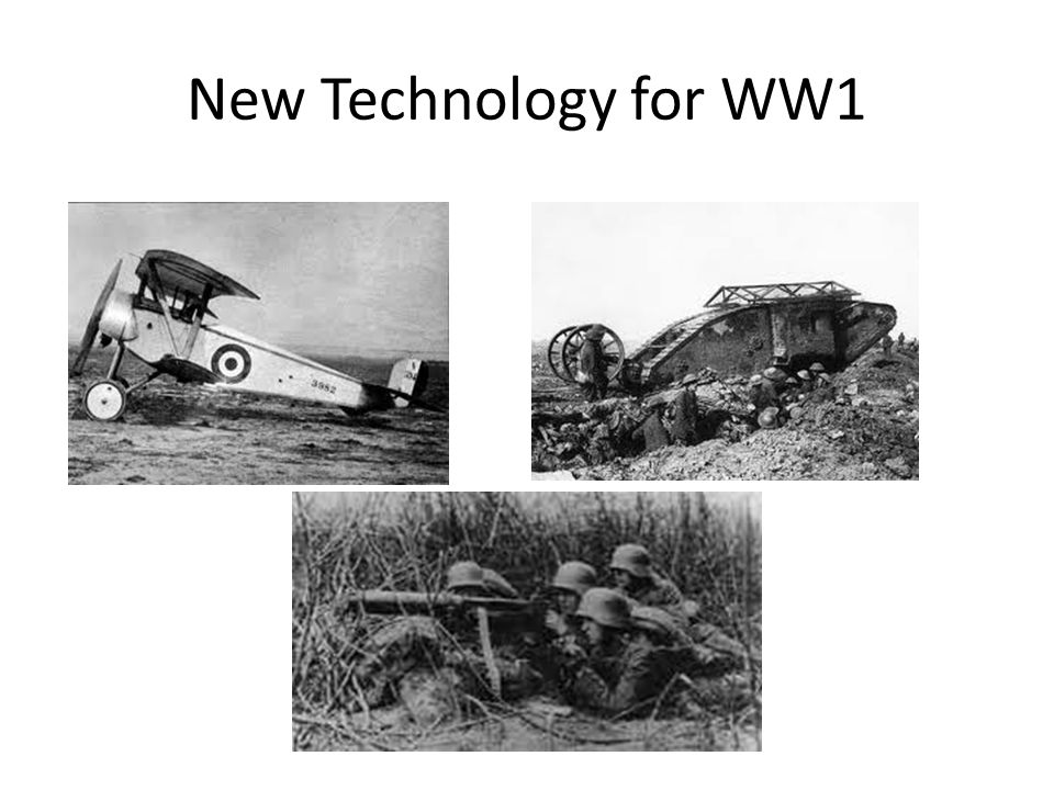 ww1 tech Ww1: first world war communications and the 'tele-net of things'  first world  war there was rapid development of wireless technology with.