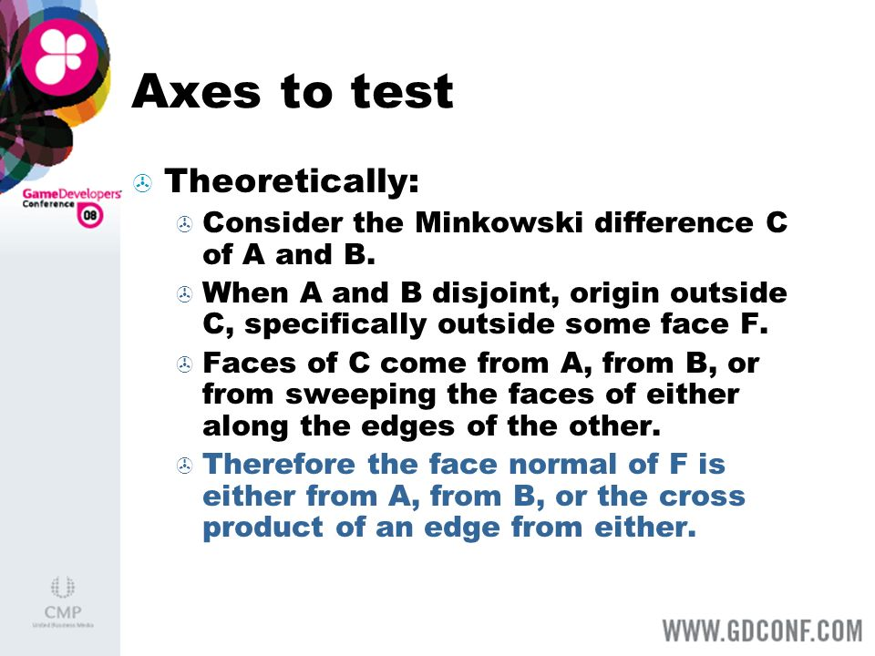 Axes to test Theoretically: