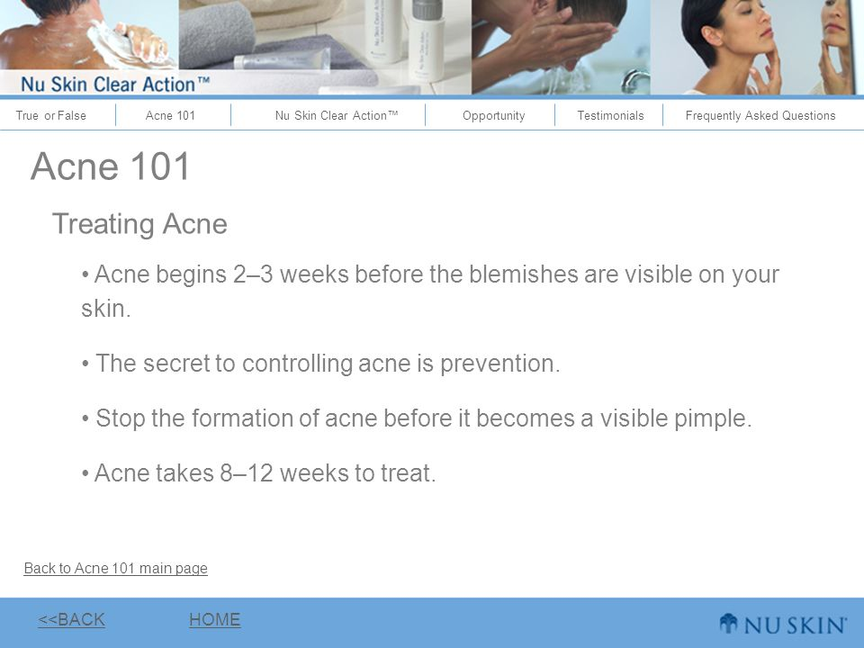 stop acne nu