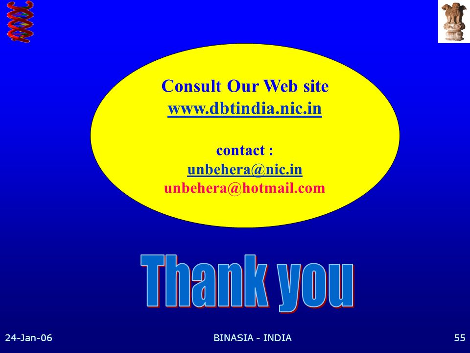 Thank you Consult Our Web site   contact :