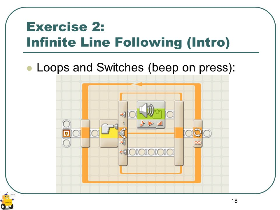 Exercise 2: Infinite Line Following (Intro)