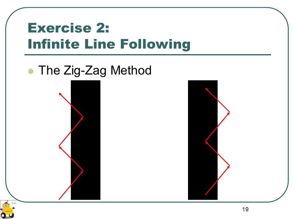 Exercise 2: Infinite Line Following