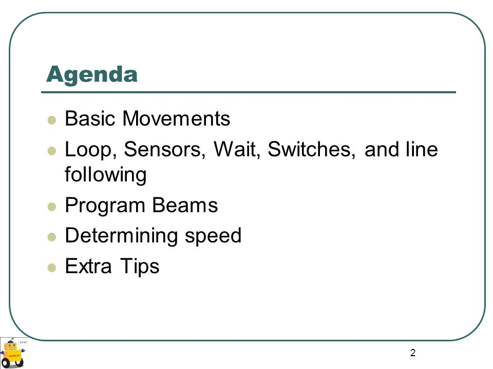 Agenda Basic Movements