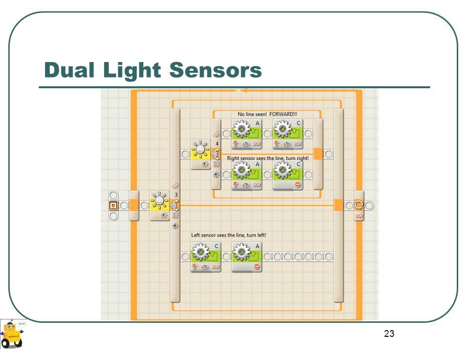 Dual Light Sensors