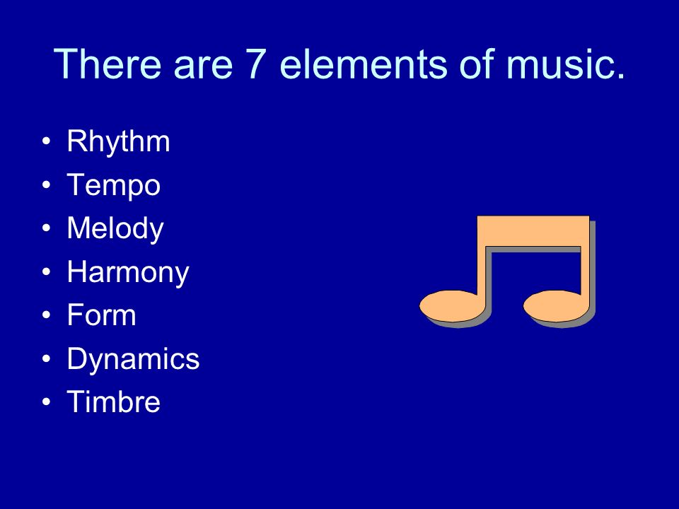 7 different elements of music Listen to your favorite songs from different elements by gruuvelement's now stream ad-free with amazon music unlimited on mobile, desktop,  7:48 2013 natural.