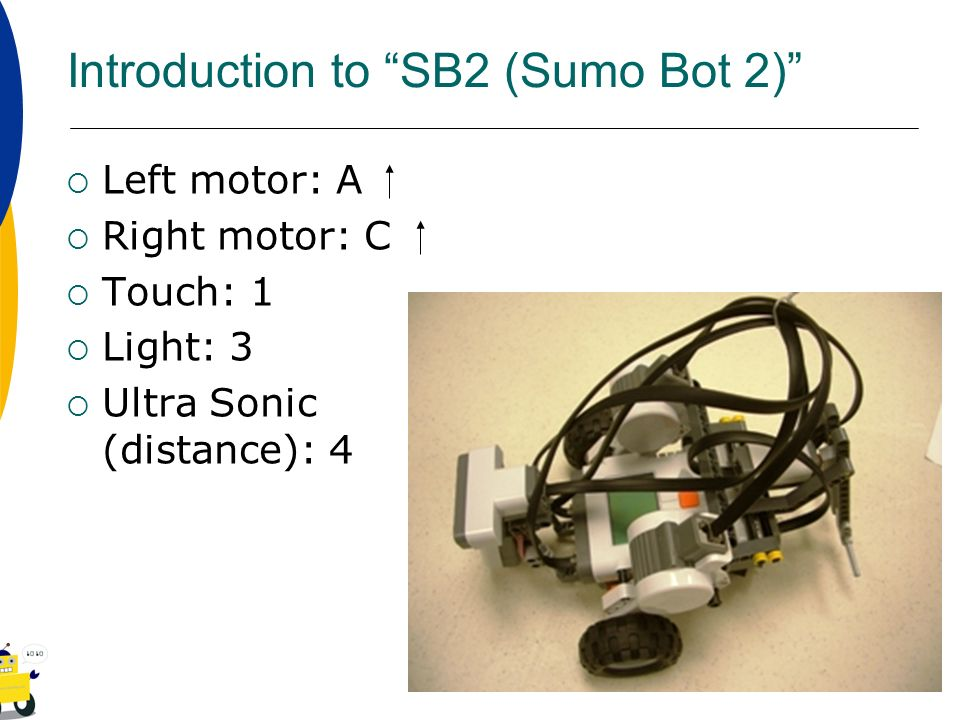 Introduction to SB2 (Sumo Bot 2)