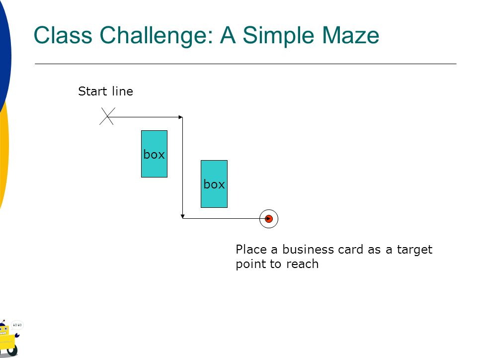 Class Challenge: A Simple Maze