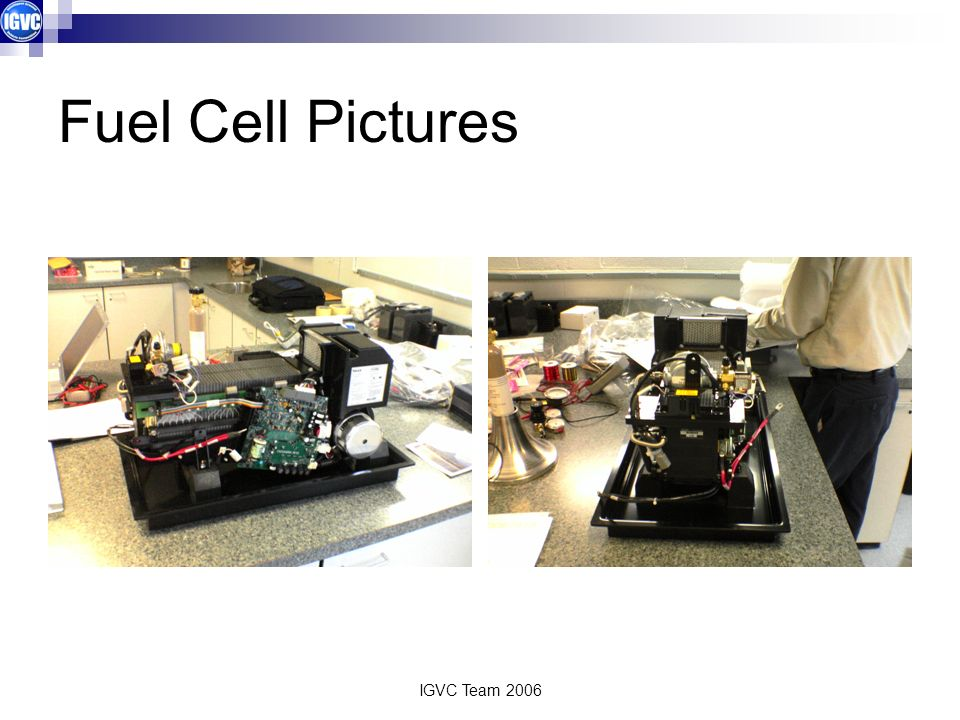 Fuel Cell Pictures IGVC Team 2006