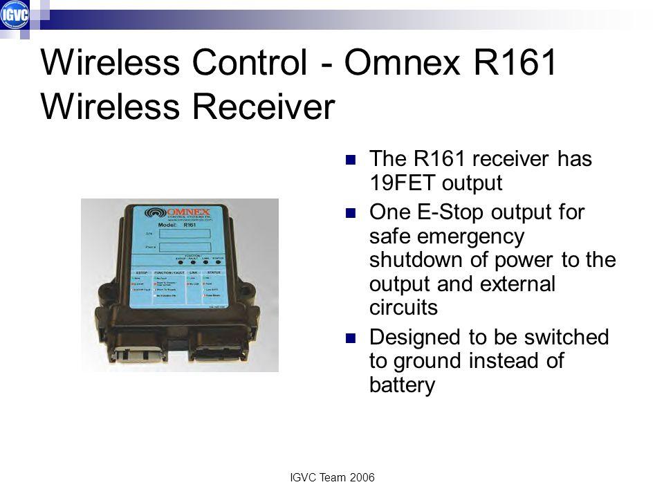 Wireless Control - Omnex R161 Wireless Receiver