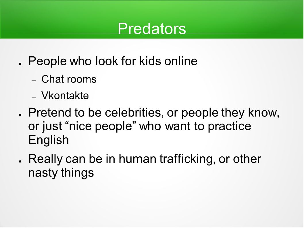 Stay safe on the internet ppt video online download for Kids video chat rooms
