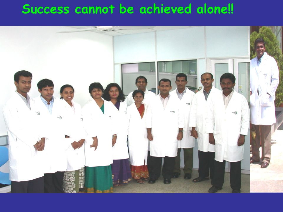 Success cannot be achieved alone!!
