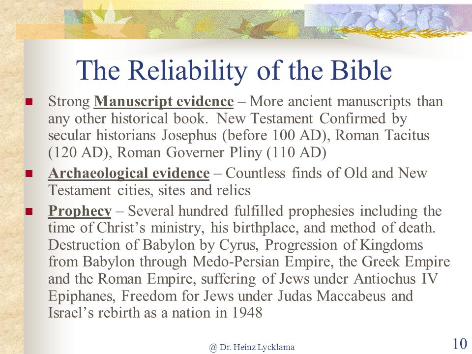 the reliability of the new testament pdf