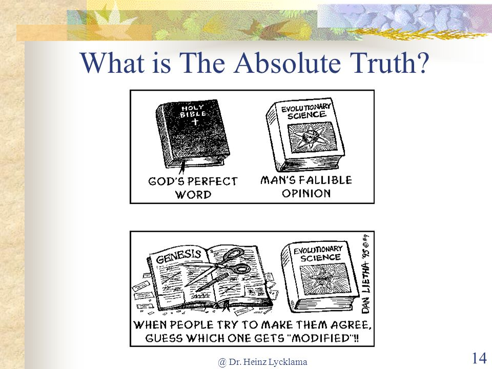 What is The Absolute Truth