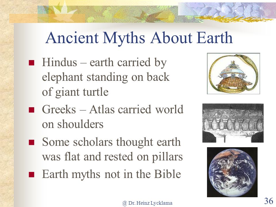 Ancient Myths About Earth