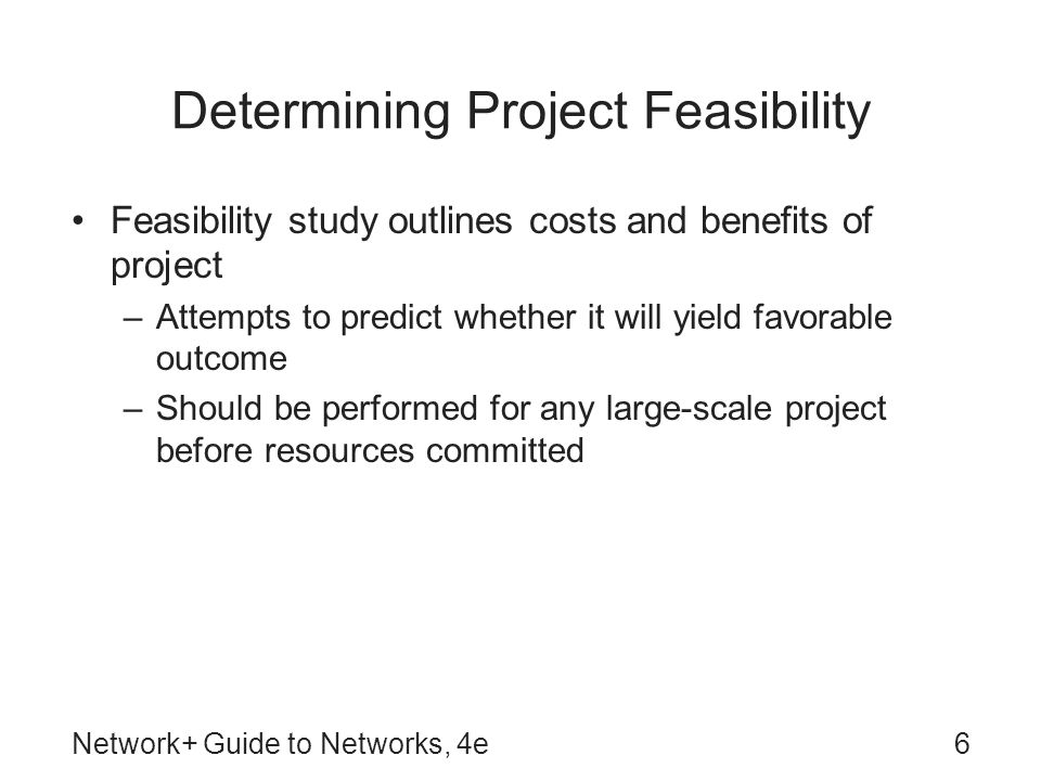 Feasibility report guide