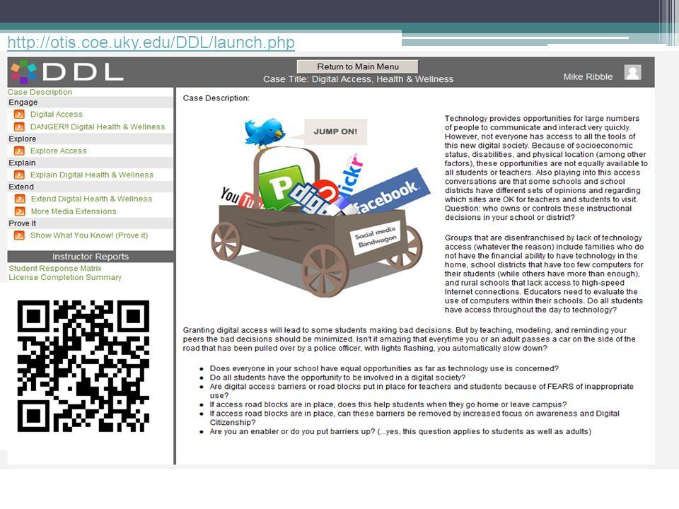 http://otis.coe.uky.edu/DDL/launch.php