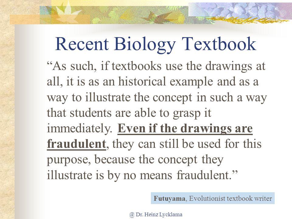 Recent Biology Textbook