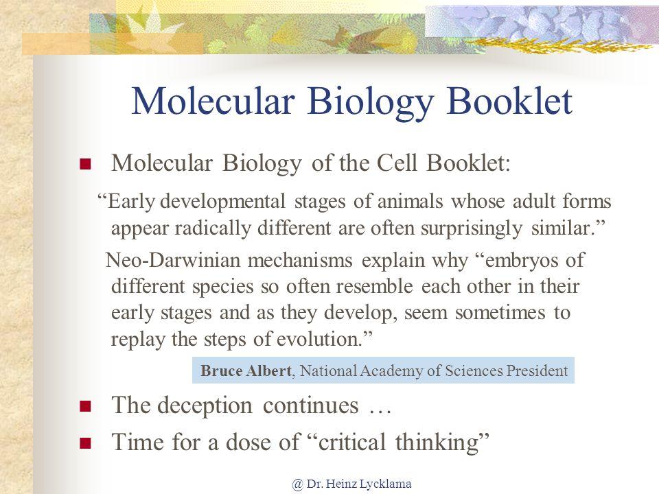 Molecular Biology Booklet